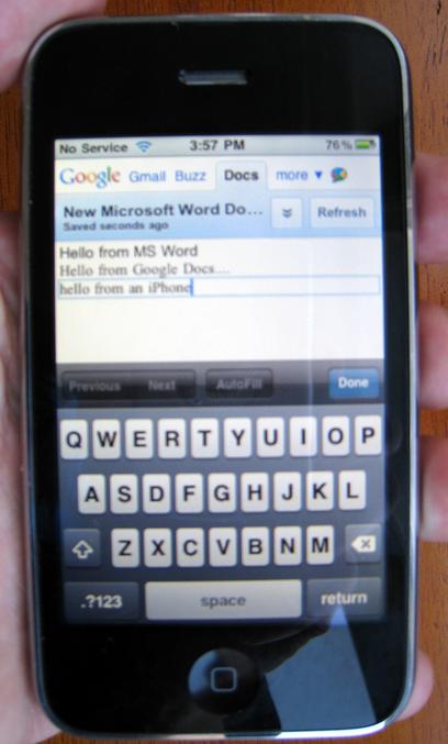 iphone sync Syncdocs