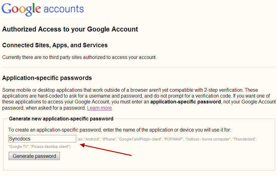 Syncdocs Now Supports Google 2-Step Authentication on all