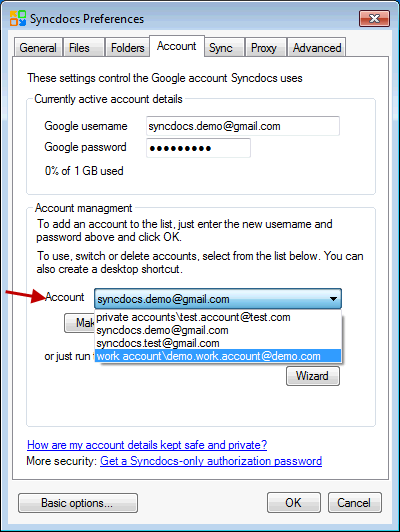 How to sync multiple Google Drive accounts concurrently   Syncdocs – The  Best Google Drive App