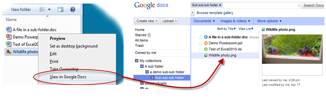 how to see how many files in google drive folder