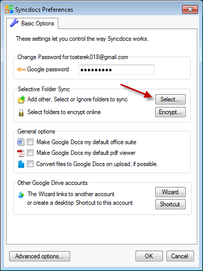 How to sync Google Drive to SkyDrive | Syncdocs – The Best Google