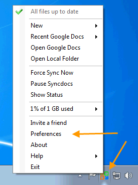 how to unsync google drive folders