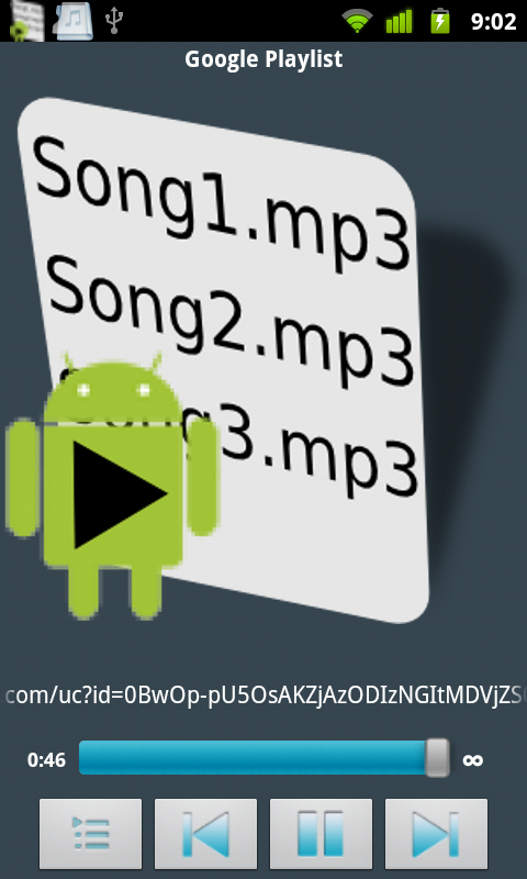 how to create playlist on google music